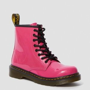 Pink Patent Leather Doc Martens